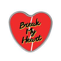 pencil-box heart-shaped