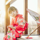 Children's performance clothes Orange female 90cm,100cm,110cm,120cm,130cm Other / other 10, 11, 12, 13, 14