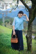 skirt Summer 2020 XS,S,M,L longuette Natural waist 81% (inclusive) - 90% (inclusive) Kapok Road cotton