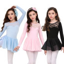 Children's performance clothes Black, pink, light green, sky blue, violet female 100cm, 110, 120, 130, 140, 150, 160, 170, 180, 190 Silkily Class B practice Cotton 95% polyurethane elastic fiber (spandex) 5% other 2, 3, 4, 5, 6, 7, 8, 9, 10, 11, 12, 13, 14 years old