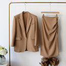 Fashion suit Spring 2021 S,M,L khaki 96% and above
