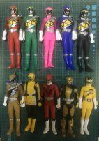 Box egg Wan Dai goods in stock Over 6 years old Japan Soft glue Power Rangers  Cartoon image