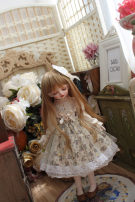 BJD doll zone Dress 1/4 Over 3 years old goods in stock Four giant baby MSD, six, big six, salon, small cloth, three, 20 cm cotton doll, 40 cm cotton doll, 15 cm cotton doll, star Delu s