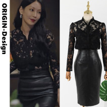 shirt The same shirt with [high quality version], the same skirt [high quality version] S. M, l, XL, collection baby plus shopping cart priority delivery Winter 2020 other 51% (inclusive) - 70% (inclusive) Long sleeves Versatile Regular square neck zipper routine Self cultivation