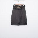 skirt Spring 2021 S,M,L,XL White, black Middle-skirt Versatile Natural waist Type H H-07667Z21