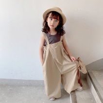 trousers Other / other neutral 90cm,100cm,110cm,120cm,130cm,140cm,150cm Q69 Khaki summer trousers leisure time There are models in the real shooting rompers cotton B12566 other b11111 8 years old Chinese Mainland