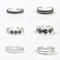 Ring / ring Silver ornaments 40-49.99 yuan Wah Mei / Wamei jq-02 jq-03 jq-022 jq-023 jq-h jq-yz brand new goods in stock Japan and South Korea female all sorts of strange things Not inlaid Plants and flowers jq02 925 Silver