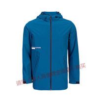Sports windbreaker Guirenniao male 399 B483075 Hooded zipper Brand logo nylon Single windbreaker Windproof, waterproof, breathable, wear-resistant -3 deep army blue, - 4 Black XS(160/80A),S(165/84A),M(170/88A),L(175/92A),XL(180/96A),2XL(185/100A),3XL(190/104A),4XL(195/108A),5XL(200/112A)
