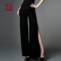 Casual pants S. M, l, XL, XXL Summer of 2019 trousers Wide leg pants Other styles routine 96% and above other Three dimensional decoration