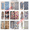 Fabric / fabric / handmade DIY fabric cotton Loose shear piece Others printing and dyeing clothing Europe and America Three have 100% Slubby cotton