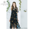 Fashion suit Summer 2021 S M L XL flowers and plants Beauty garden J02T019 96% and above Polyester 100%