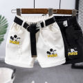 trousers Other / other neutral summer Pant Korean version No model Jeans Leather belt High waist Cotton denim Don't open the crotch Cotton 95% other 5% Class B 2 years old, 3 years old, 4 years old, 5 years old, 6 years old, 7 years old, 8 years old Chinese Mainland Zhejiang Province Wenzhou City