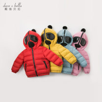 Down Jackets 73/18M 80/24M 90/3Y 100/4Y 110/5Y 120/6Y 130/7Y 90% White duck down Children, women and men DAVE&BELLA polyester have cash less than that is registered in the accounts No detachable cap Zipper shirt Solid color Class A Other 100% Winter of 2019 Europe and America