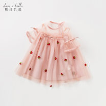 Dress Grey Pink [spot] Grey Pink - presale 1 Grey Pink - presale female DAVE&BELLA Other 100% summer Europe and America Short sleeve Broken flowers other Splicing style DBM10422 Summer 2021 12 months, 18 months, 2 years old, 3 years old, 4 years old, 5 years old, 6 years old and 7 years old