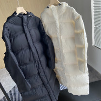 Down Jackets Winter 2020 Other / other White, black S,M,L White duck down 90% have more cash than can be accounted for Long sleeves thickening zipper routine Solid color 250g (including) - 300g (excluding)