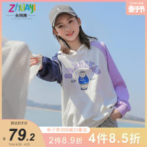 Sweater / sweater Aunt Zhu female 150cm 160cm 170cm 175cm spring and autumn Detachable cap leisure time Socket routine There are models in the real shooting other Cartoon animation Other 100% Class B Spring 2021