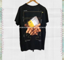 T-shirt black XS S M L Short sleeve Round neck Conventional models Straight conventional cotton 96% and above