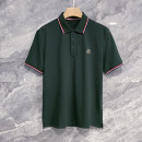 Polo shirt Other / other Fashion City routine Dark green, sapphire blue, white, black, light gray, navy M,L,XL,2XL,3XL standard Other leisure summer Short sleeve Simplicity in Europe and America routine youth 2021 Solid color cotton other badge 70% (inclusive) - 79% (inclusive)