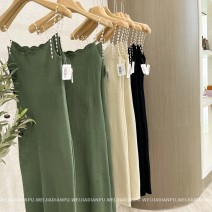 Dress Spring 2021 Classic black, retro green, soft apricot Single size / F Home only LYQ0139-U More than 95% other other