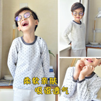 Underwear set 80cm,90cm,95cm,100cm,110cm,120cm,130cm,140cm Cotton 100% cotton Songyouxi songwu spring and autumn neutral 12 months, under 1 year old, 18 months old, 2 years old, 3 years old, 4 years old