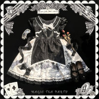 Lolita / soft girl / dress Magic tea party Cut for OP, Apron - single buy, Apron - add with skirt One size fits all, s, m, l, XL Pre sale