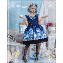 Lolita / soft girl / dress Magic tea party All in blue M, L