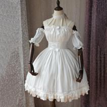 Lolita / soft girl / dress Magic tea party White, black S,M,L,XL Lolita