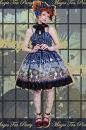 Lolita / soft girl / dress Magic tea party Dark blue, dark red 50. M, s, XL don't have blue No season Lolita
