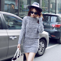 Fashion suit Winter of 2018 Average size Grey, red, lucky bag random 18-25 years old Other / other 71% (inclusive) - 80% (inclusive)