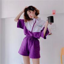 Casual suit Summer of 2019 Blue suit, purple suit M,L,XL,XXL