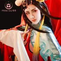 Cosplay women's wear suit Customized Over 8 years old Farewell my concubine (in stock), special auction (in stock), farewell my concubine shoes [size note], headdress game Manggu cos Chinese Mainland Food story Farewell to my concubine S