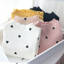 T-shirt Pink, yellow, white, black Other / other 7,9,11,13,15 female spring and autumn Long sleeves Crew neck nothing other other 2 years old, 3 years old, 4 years old, 5 years old, 6 years old