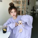 Sweater / sweater Autumn 2020 Special rate of welfare in live broadcasting room M Long sleeves routine Socket singleton  routine Crew neck easy commute routine Cartoon animation 18-24 years old 71% (inclusive) - 80% (inclusive) Korean version cotton cotton Cotton liner
