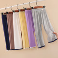 Home Pants / pajamas Size 90, 100, 110, 120, 130, 140, 150, 160, 170 Other / other Modal fiber (modal) 95% polyurethane elastic fiber (spandex) 5% White, gray, pink, yellow, dark green, Navy, coffee, purple, pre-sale gray, pre-sale coffee neutral Four seasons other Class A