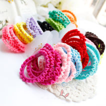 Hair accessories Black, light blue, yellow, fluorescent yellow, fluorescent orange, light pink, coffee, fluorescent red, light lake blue, blue-green, emerald green, light purple, bright red, deep rose red Other / other female 170810kiki