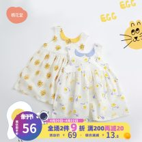 Dress White egg white cat contrast crew neck female Cotton town 73cm 80cm 90cm 100cm 110cm 120cm Cotton 100% summer Sweet Skirt / vest cotton A-line skirt F21211108 Class A Summer 2021 3 months 12 months 6 months 9 months 18 months 2 years 3 years 4 years old Chinese Mainland Shanghai Shanghai