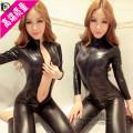 Fun suit Midnight angel spandex black clothes Average size