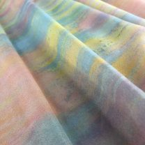 Fabric / fabric / handmade DIY fabric chemical fiber Muyun (half meter price), Yuxia (half meter price), Tianlan (half meter price), peach blossom powder (half meter price), lavender (half meter price) Loose shear piece scenery printing and dyeing clothing Others Picking lotus and going south Suzhou