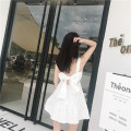Dress Summer of 2019 White, yellow, black S,M,L Miniskirt High waist camisole 18-24 years old Other / other