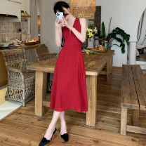 Dress Summer 2021 Red plaid, Black Plaid, red plaid pre-sale XS,S,M,L