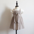 Dress Khaki, pink female Other / other 90cm for 100 yards, 100cm for 110 yards, 105cm for 120 yards, 110cm for 130 yards and 120cm for 140 yards Cotton 100% summer lady lattice cotton other 2 years old, 3 years old, 4 years old, 5 years old, 6 years old Chinese Mainland Shandong Province Qingdao