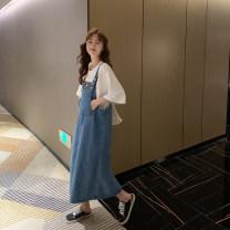 suit happymaman A separate dress or jacket M, L Korean version Short sleeve + skirt summer routine
