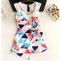 one piece  Summercool / summer cool M. L, XL, XXL, XXXL, m (5 days later), l (5 days later), XL (5 days later), XXL (5 days later), XXXL (5 days later) Picture color Skirt one piece With chest pad without steel support Nylon, spandex, others female Sleeveless Casual swimsuit