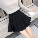 skirt Winter 2020 S M L XL 2XL Short skirt Versatile High waist Pleated skirt lattice Type A 18-24 years old ZY351-T538 More than 95% Gemini polyester fiber Polyester 96.8% polyurethane elastic fiber (spandex) 3.2% Pure e-commerce (online only)