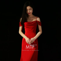 Dress / evening wear Adult Party 165s165m173s165l165xl173m173l173xl customized Red bandage (Qi Di) Korean version middle-waisted Spring of 2018 Sling type Bandage 18-25 years old L447F Man Tingfang Polyethylene terephthalate (polyester) 99% other 1% Pure e-commerce (online only)