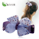 Hair accessories Top clamp 30-39.99 yuan Charming angel Elegant purple 2357 light purple 2357 brilliant blue 2357 brand new Japan and South Korea Fresh out of the oven Diamond / Crystal Not inlaid CG2357A Spring and summer 2017 no Pure e-commerce (online only)