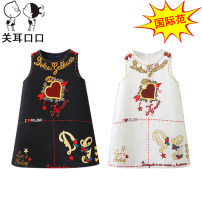 Dress female Other / other Cotton 100% No season Europe and America Skirt / vest Cartoon animation cotton A-line skirt Class A 2, 3, 4, 5, 6, 7, 8, 9, 10 years old Chinese Mainland Zhejiang Province Hangzhou
