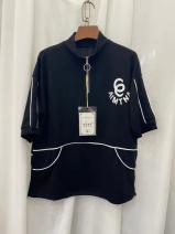 T-shirt Black, white, grey L,XL,2XL,3XL hemp 96% and above Fashion curve