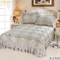 Bed cover polyester fiber Admiration 230x250cm for 1.5m, 265x250cm for 1.8 to 2 cm Plants and flowers Qualified products