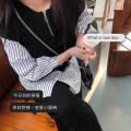 Women's large Spring 2021 black 1X,2X,3X Knitwear / cardigan singleton  commute easy moderate Socket Long sleeves Stripe, solid color Korean version Three dimensional cutting routine Xi Youzi 25-29 years old zipper